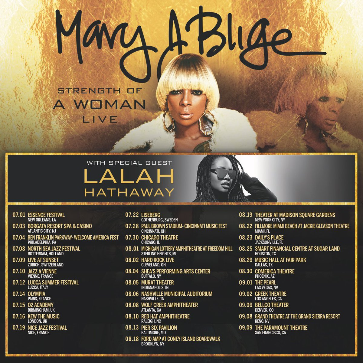 Who's ready for the #StrengthOfAWoman Live tour? Tweet me your cities ???? https://t.co/s2wxLzezfk