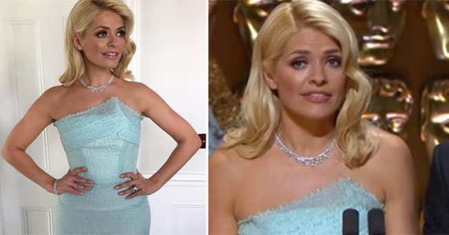 Something really awkward happened to Holly Willoughby at the BAFTA TV awards...