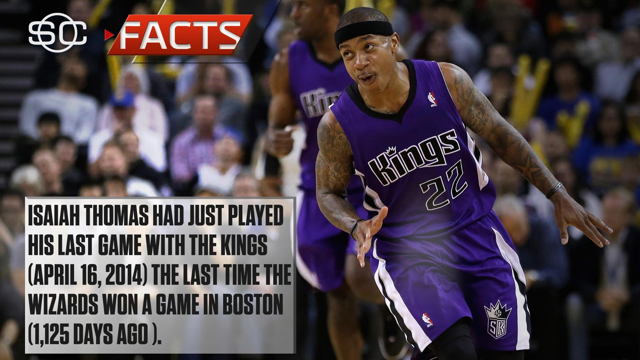 IT4 wasn't even a Celtic the last time Washington won a game in Boston. #SCFacts https://t.co/Fbi704vr3c