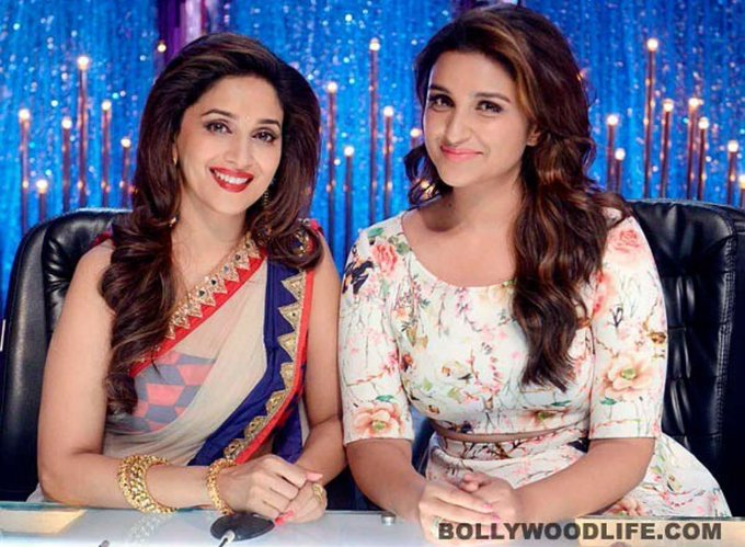 HAPPY BIRTHDAY MADHURI DIXIT !! ~ with from the sets of Jhalak Dikhlaja =)