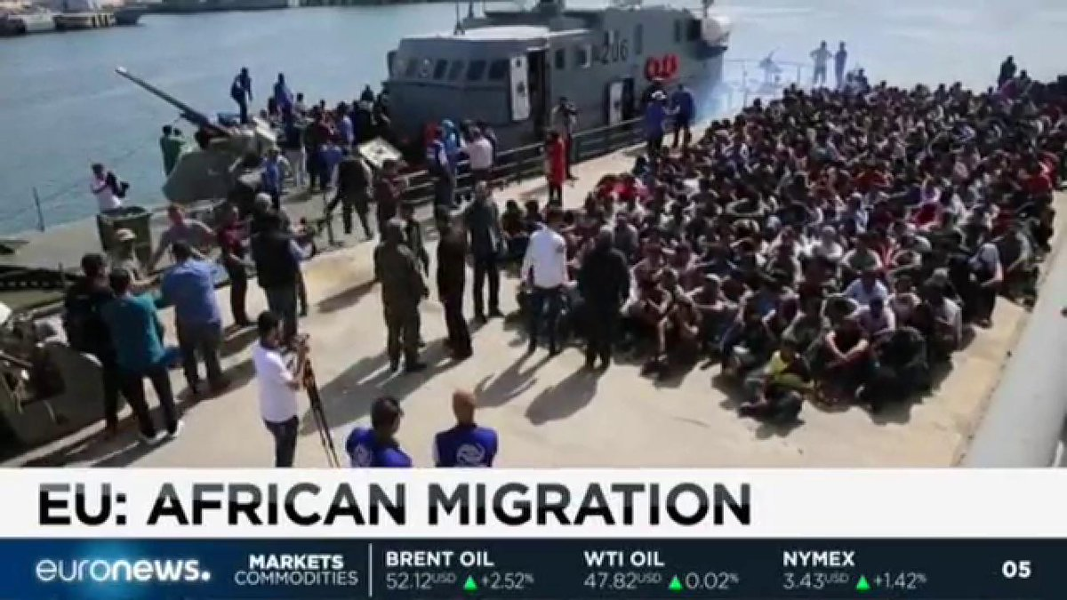 Africa on EU agenda amid rising migration from Libya to Europe. Read more:
