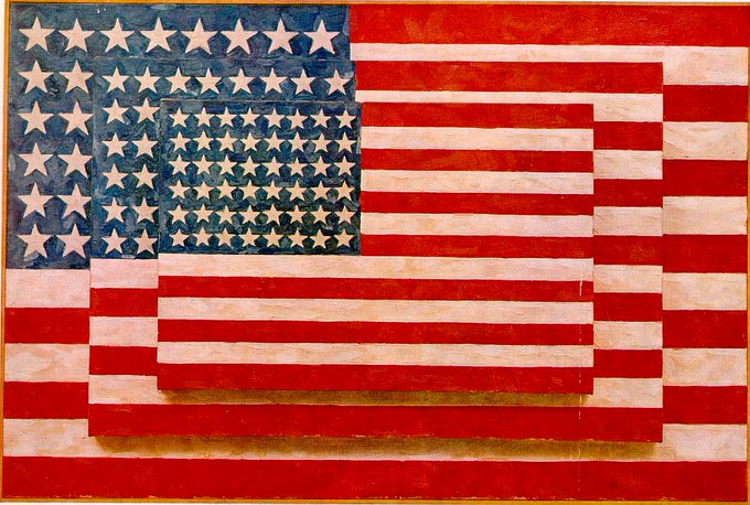 Happy Birthday to Jasper Johns, famous and famously oblique