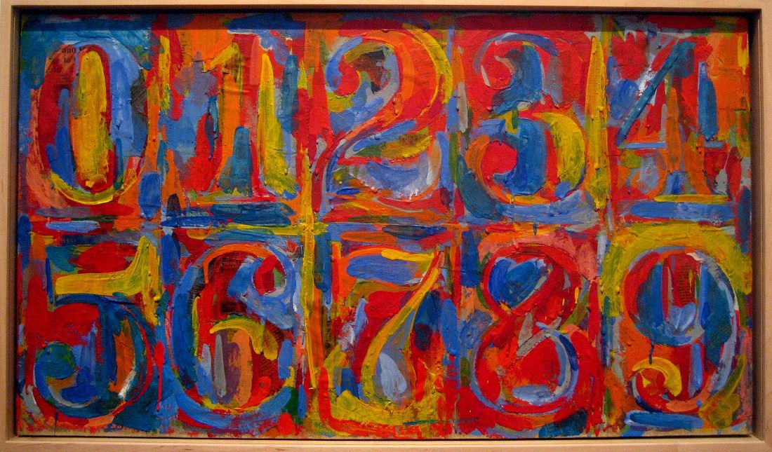 A very colorful, Happy Birthday to Jasper Johns, born on this day!