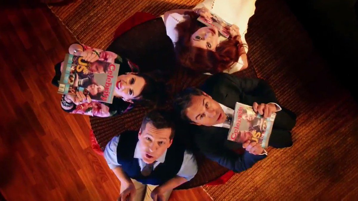 WillAndGrace is back: Watch the cast's musical return from NBC's Upfront presentation