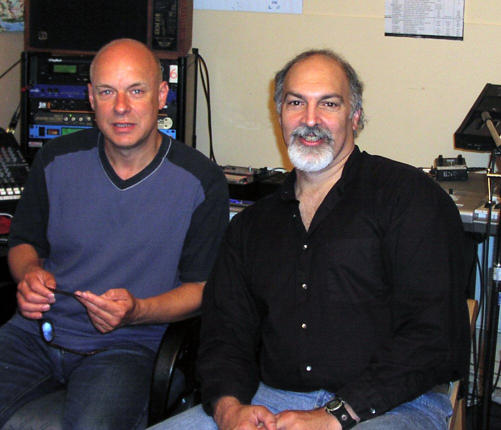 Two huge birthdays -  Mike Oldfield and Brian Eno! Happy chaps!