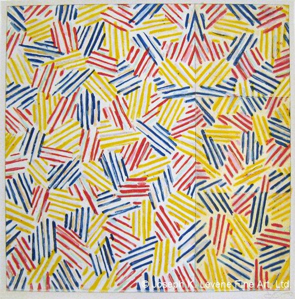 AND it\s Happy Birthday to Jasper Johns