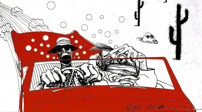 AND today it\s Happy Birthday to Ralph Steadman