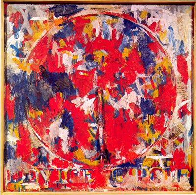 Happy Birthday to Jasper Johns, born today in 1930!