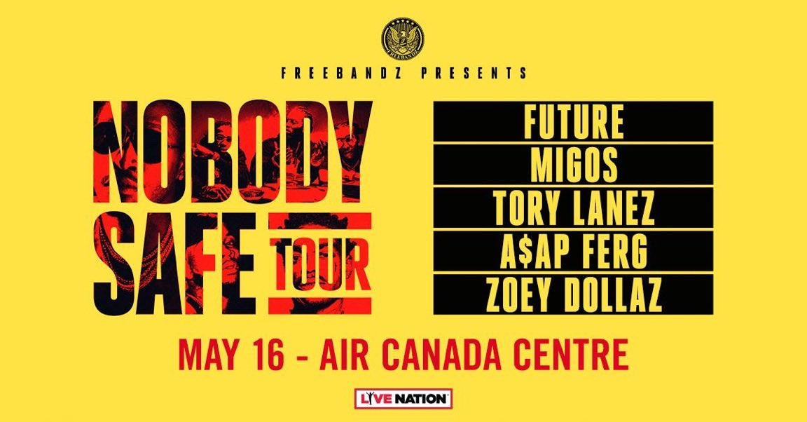#NobodySafeTour Toronto  https://t.co/v01J4k5CSa? https://t.co/pDnXTft2N5