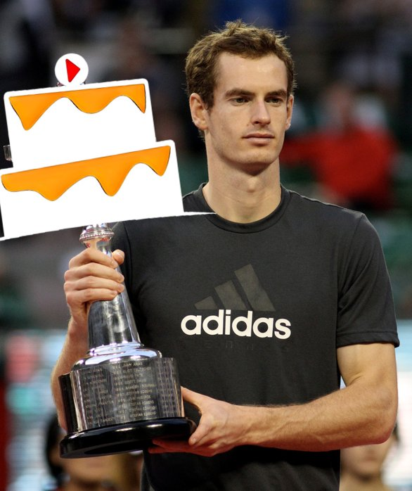 Happy Birthday to tennis star, Andy Murray!  Photo by: Christopher Johnson, Edited by Our Team