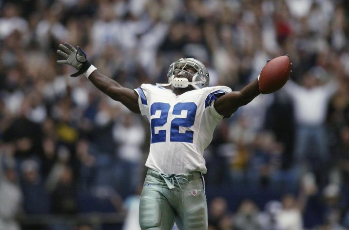 Happy birthday to the NFL\s all-time leading rusher, Emmitt Smith!!!