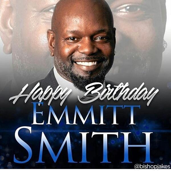 Happy birthday Emmitt Smith!