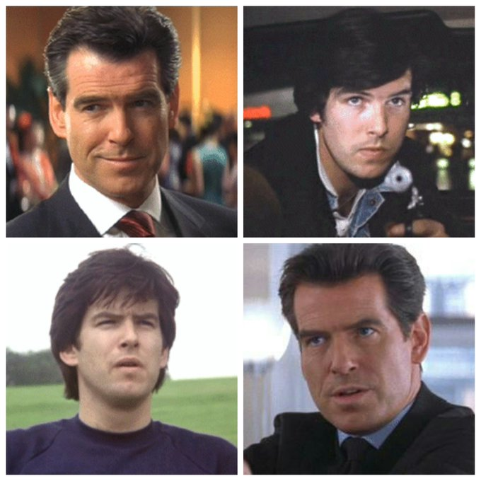 Pierce Brosnan is 64 today, Happy Birthday Pierce!