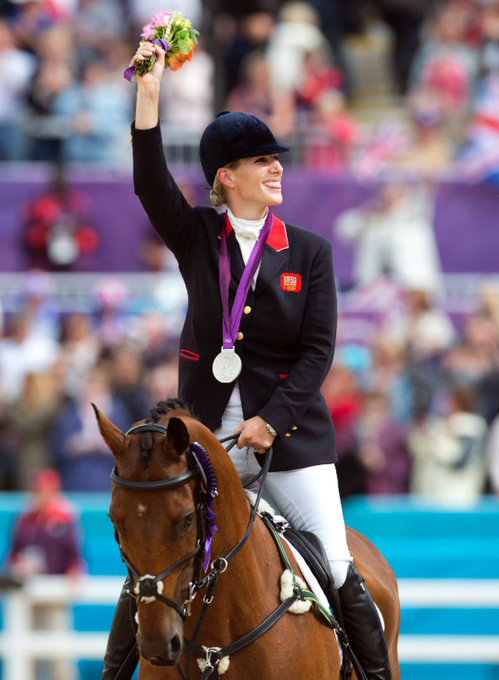 Wishing Zara Phillips, MBE a very happy birthday for yesterday over in England!