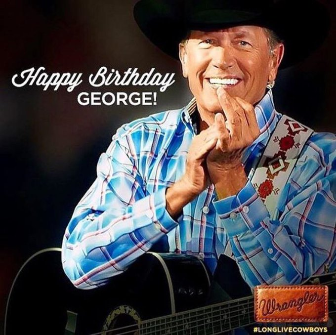 Happy Birthday Mr. George Strait at
