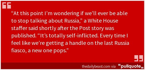 Even White House staffers are WTF about this latest Trump/Russia bombshell.  https://t.co/0VfUGY51O7 https://t.co/3CAeRj5NA5