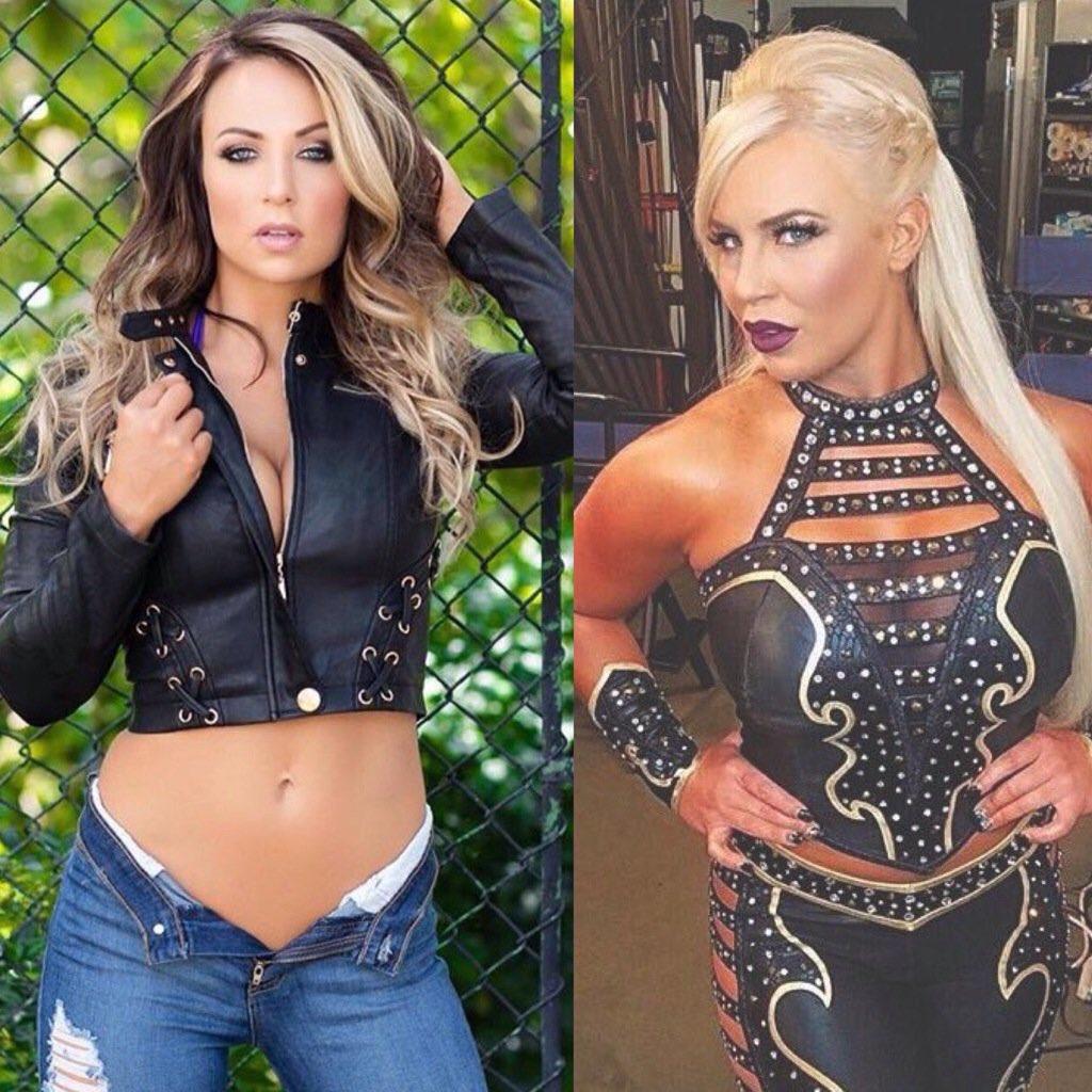 RT @WWEPPorn: Who's hotter?  RT for Emma Like for Dana Brooke  #RAW #ExtremeRules https://t.co/kVksI6CJcE