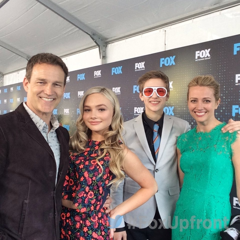 At the #FoxUpfront party with @TheGiftedonFOX cast @smoyer, @NatalieAlynLind, #PercyHynesWhite and @AmyAcker