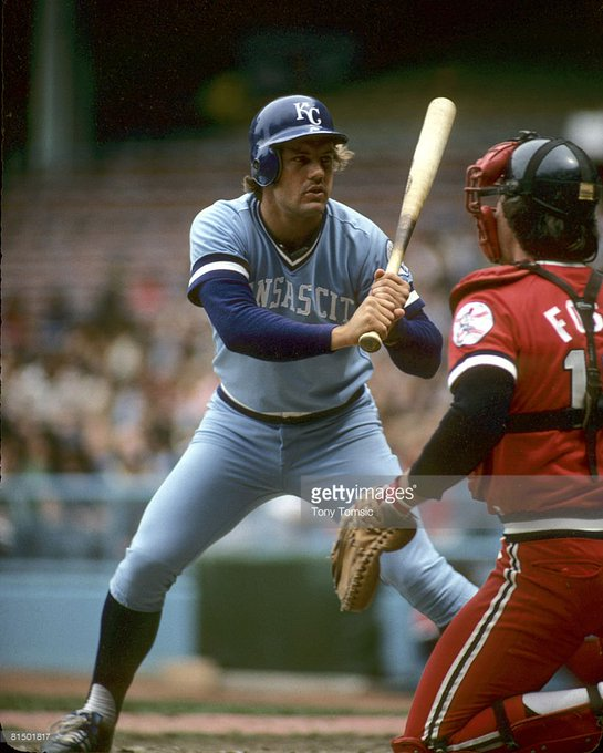 Happy bday to HOFer George Brett, the greatest hitter of the 80s. I can\t believe he\s 64 now. Time flies