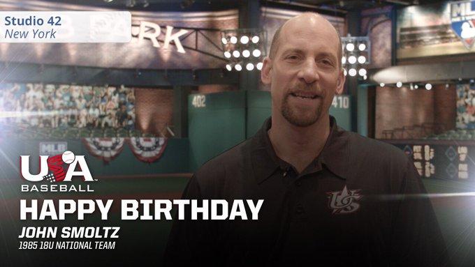 Happy birthday to alum and Hall of Famer John Smoltz!