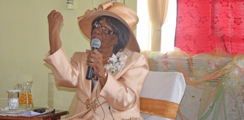 100-year-old mum toast of Newbury Church
