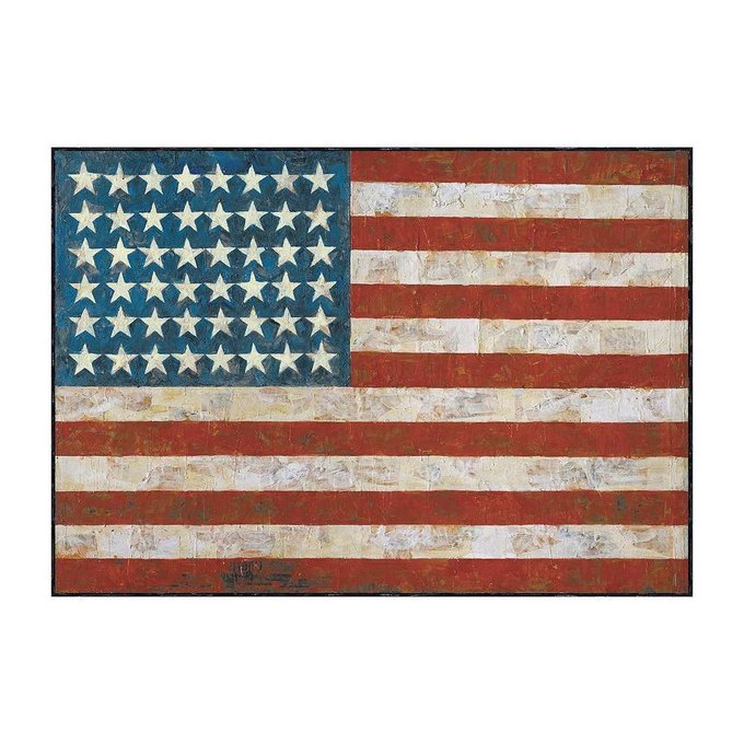 Happy 87th birthday to the great Jasper Johns, painter, printmaker, global icon, American original