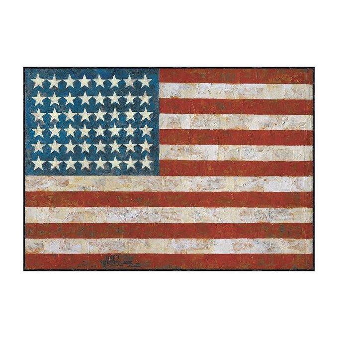 Happy 87th birthday to the great Jasper Johns, painter, printmaker, global icon, American original
