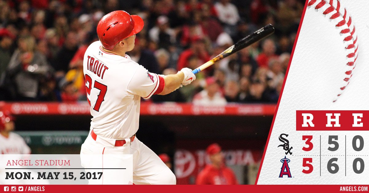 #HaloRecap: 3 homers lift #Angels over White Sox in opener!  https://t.co/SNVz0od5EG https://t.co/KUkthGl6xs