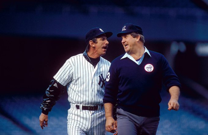 Happy Birthday to Billy Martin(left), who would have turned 89 today!
