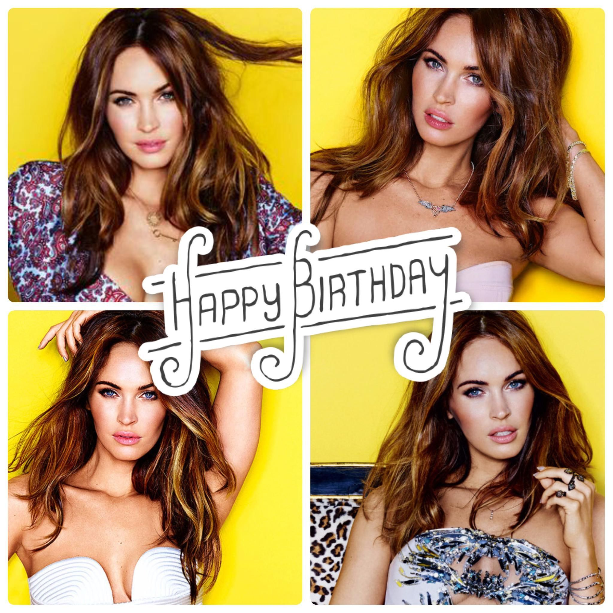 Wishing the very talented, Megan Fox, a Happy Birthday today.  Help us celebrate her.