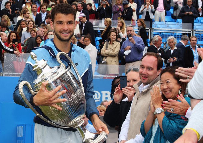 Happy birthday to Grigor Dimitrov, our much-loved 2014 champion!  26 today.   See you soon, Grigor.