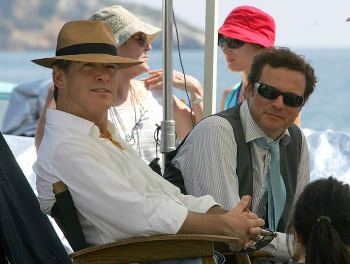 "COLIN FIRTH ADDICTED HAPPY BIRTHDAY, ""PIERCE BROSNAN\"" ^^"