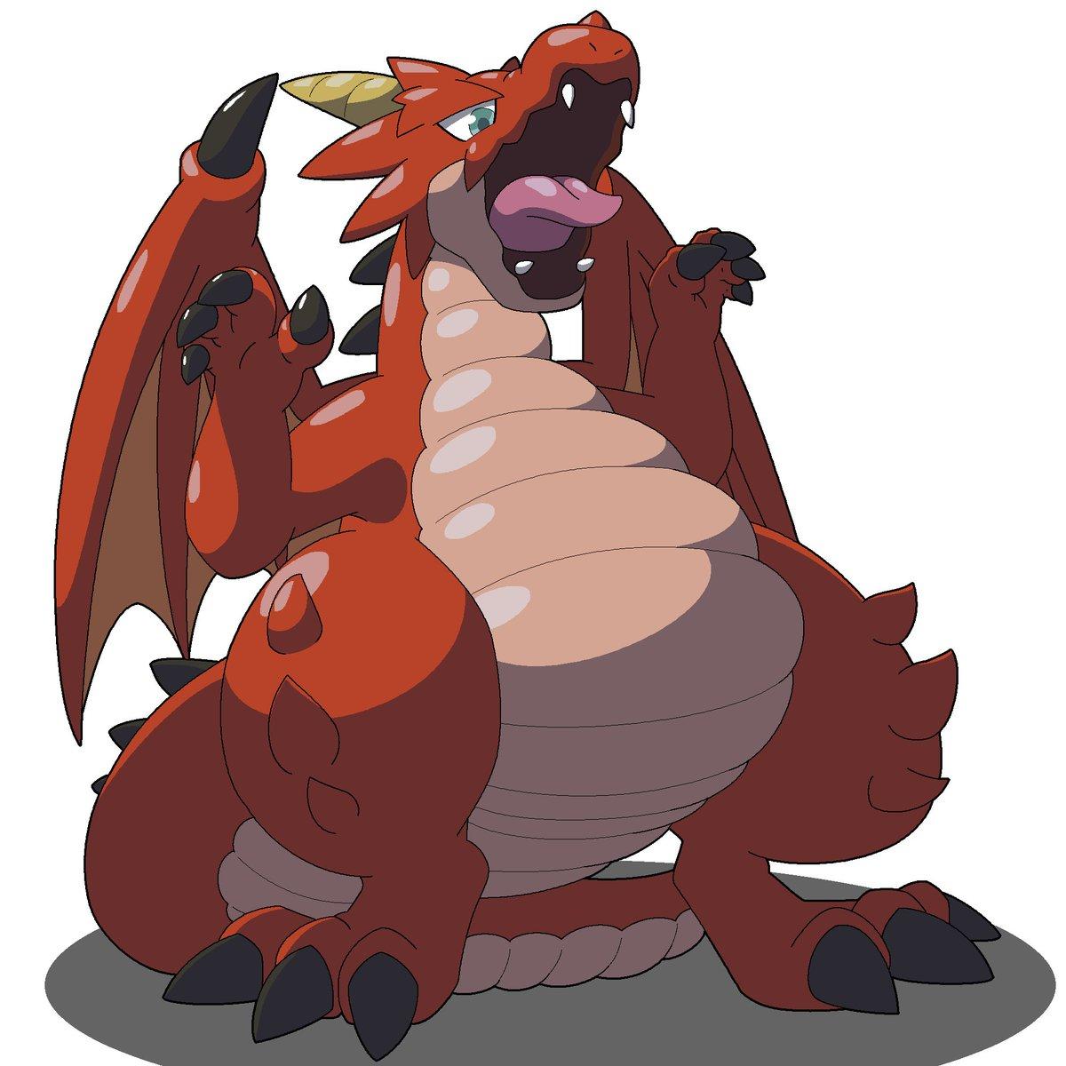 ドラゴンコレクションのファイアドレイク君。画像検索したらいくつか作品出たけど、リクエスト者的に多分この子。