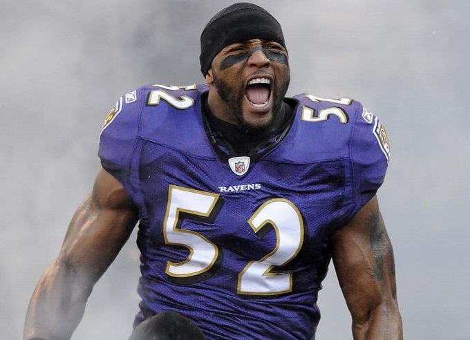 Happy Birthday to the Greatest of All Time. Ray Lewis.