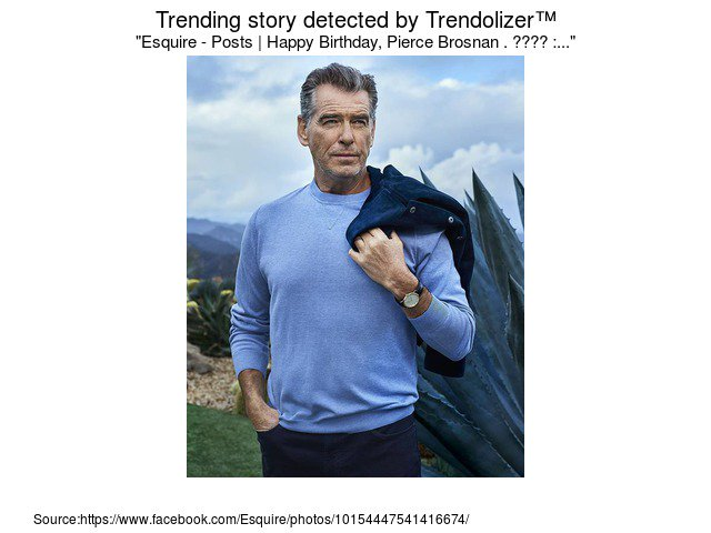 Esquire - Posts  Happy Birthday, Pierce Brosnan . ???? :...