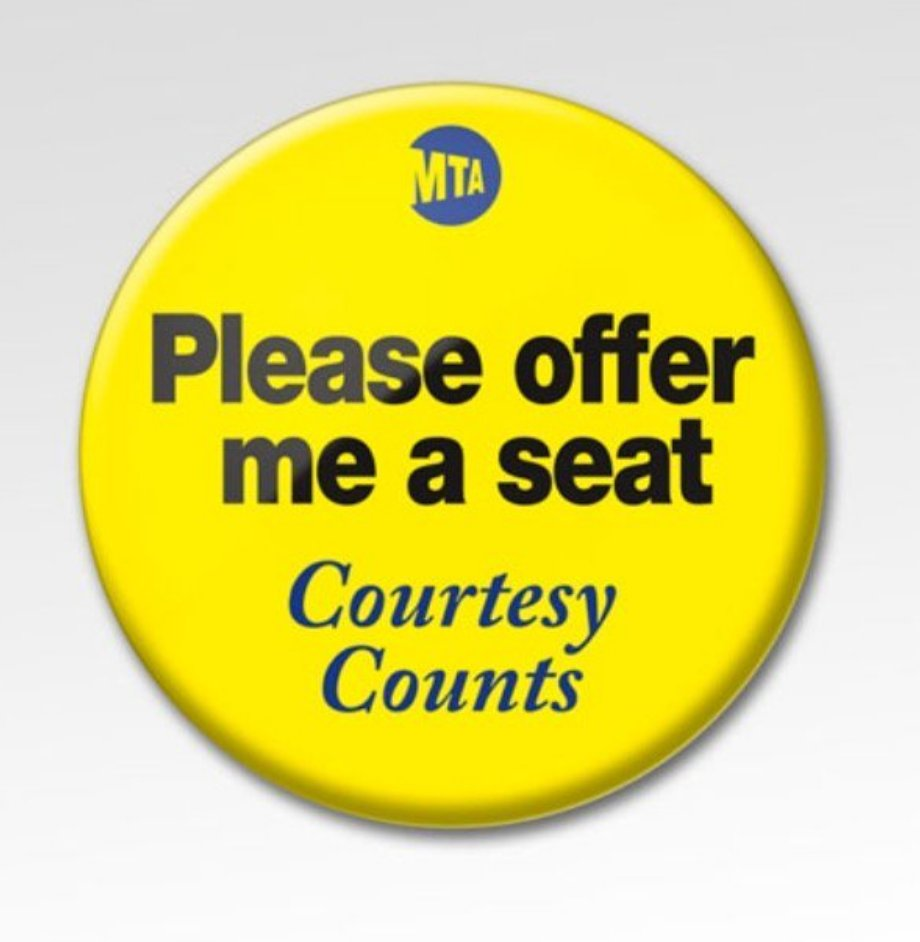 NYC helping pregnant commuters get a seat on the train with new buttons: https://t.co/PAPrWcSuPj https://t.co/L3oiC5OFdm