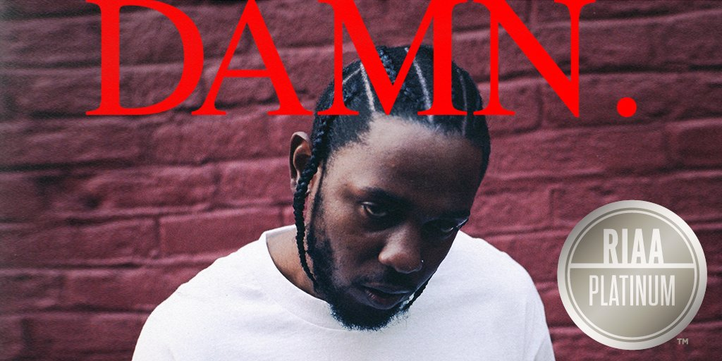 .@kendricklamar DAMN. is now PLATINUM #TDE https://t.co/DR0WmZsZ9D