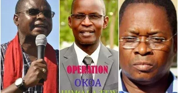 Powerful ODM Governor and his senator mauled by angry youth at MCA's burial (Photos)