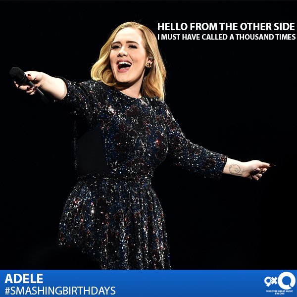 Adele Laurie Blue Adkins celebrates her birthday today! Happy Birthday!  What\s your favourite Adele single?