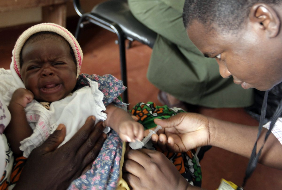 The world's first malaria vaccine is going to be trialled in Ghana, Kenya and Malawi