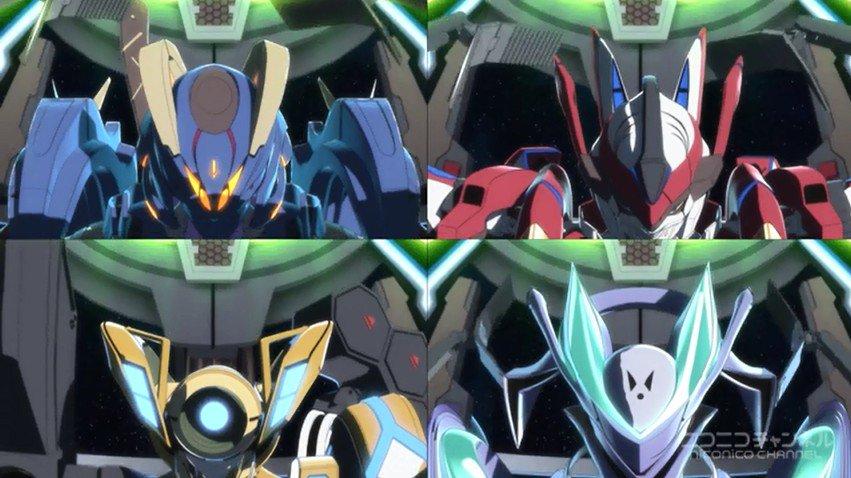 は~銀河機攻隊マジェスティックプリンスとかいうアニメの戦隊ロボット感たまんね~な!