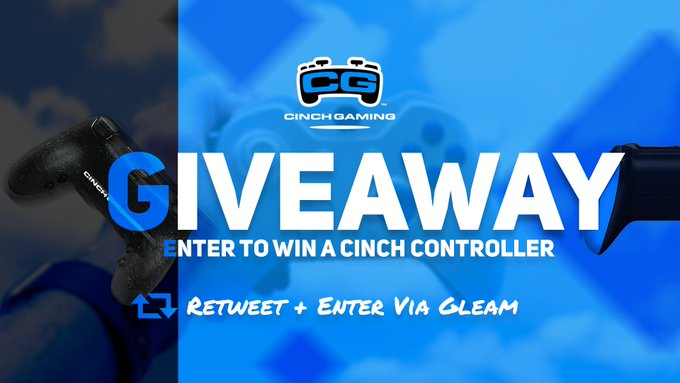 Win a Cinch Gaming Controller