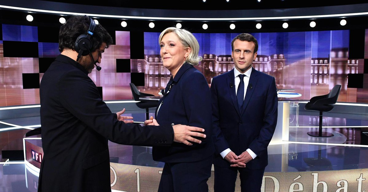 France's Macron takes legal action over Le Pen 'defamation' debate days before election