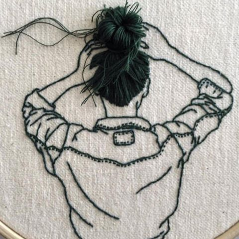 Embroidered Art https://t.co/EXdTxMxWPp