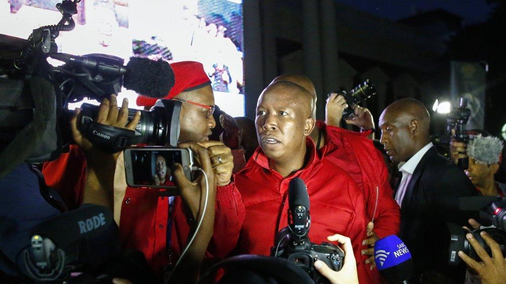 Will political rebel Julius Malema inherit Jacob Zuma in South Africa?