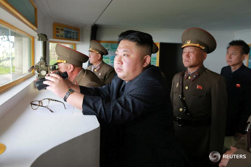 North Korea accuses CIA of a 'bio-chemical' weapon plot to attack its leadership. More here: