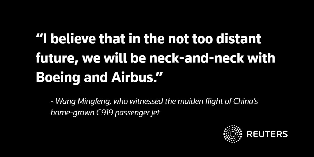 With maiden jet flight, China enters dog-fight with Boeing and Airbus: