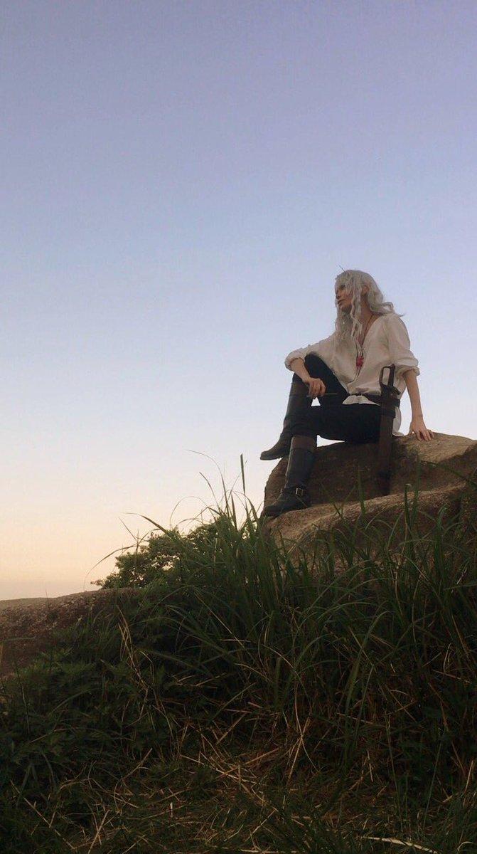 【遅報】今日はベルセルク黄金時代編のグリフィスでロケにいってきました〜〜!!撮影はだてさん✨2人とも1日本当にありがとう