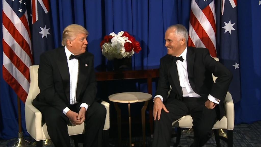 President Trump praises Australia's universal health care system after Obamacare repeal