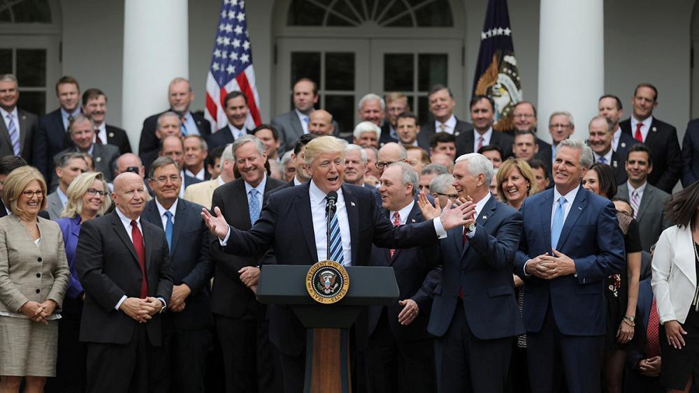 Obamacare is 'dead' hails triumphant Trump